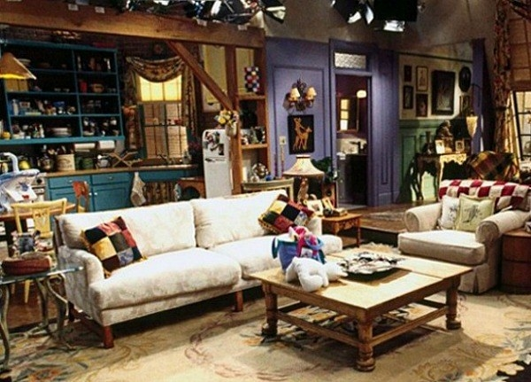 First off, just the outrageous size of Monica and Rachel's apartment in Manhattan.