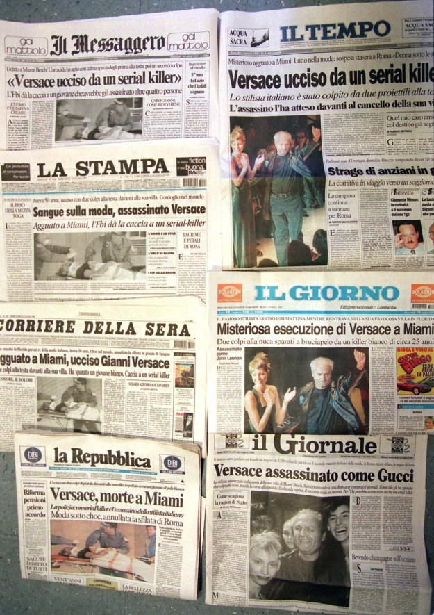On July 16, notable Italian newspapers ran front-page stories reporting the murder.