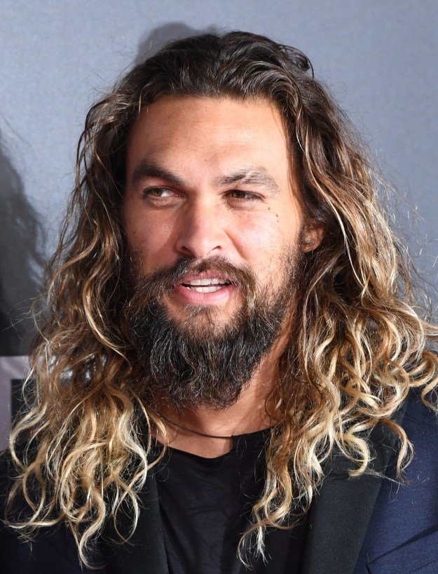 This is actor Jason Momoa, aka your sun and stars.