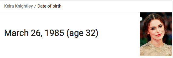 If you're like me, you just googled their ages. If you're not like me — here they are for reference: