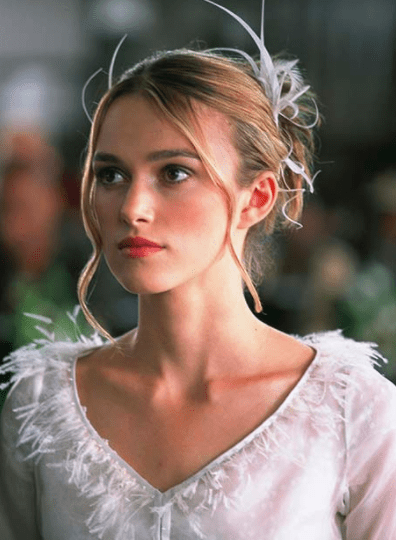 As someone who has watched Love Actually approximately 7 million times in my life, there are some things that are just facts in my mind: 1) Keira Knightley is supposed to play a full-grown adult.
