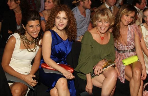 2008: Marisa Tomei, Bernadette Peters, Better Midler, Juliette Lewis, and 1/16th of Kate Mara.