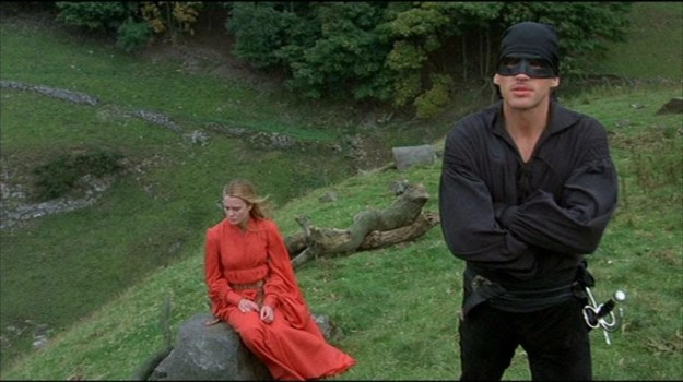 Westley and Buttercup from The Princess Bride by William Goldman