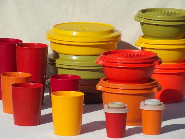 This style of Tupperware containers.