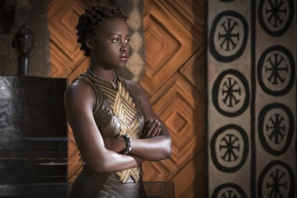 Then there's Nakia, played by Lupita Nyong'o. Nakia is an undercover spy for Wakanda, who just so happens to have a heart of gold.