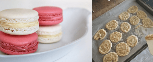 The macaron maker who won't be working in a patisserie any time soon.