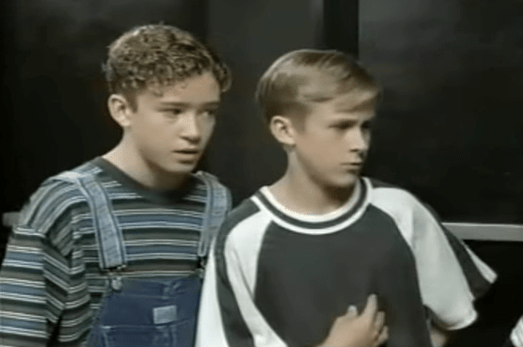 Justin Timberlake's mom became Ryan Gosling's legal guardian while they filmed The Mickey Mouse Club because Ryan's mom had to stay in Canada for work.
