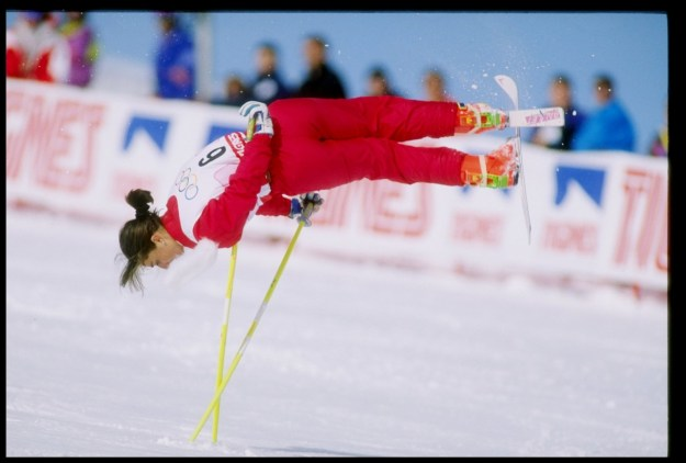 "Sadly, the sport only had a brief run in the Olympics. It appeared as a demonstration sport in at the 1988 Calgary Olympics and the 1992 Albertville games. But then the Olympics committee determined that the sport didn't have ""athletic merit"" and decided not to make it an official Olympics sport."