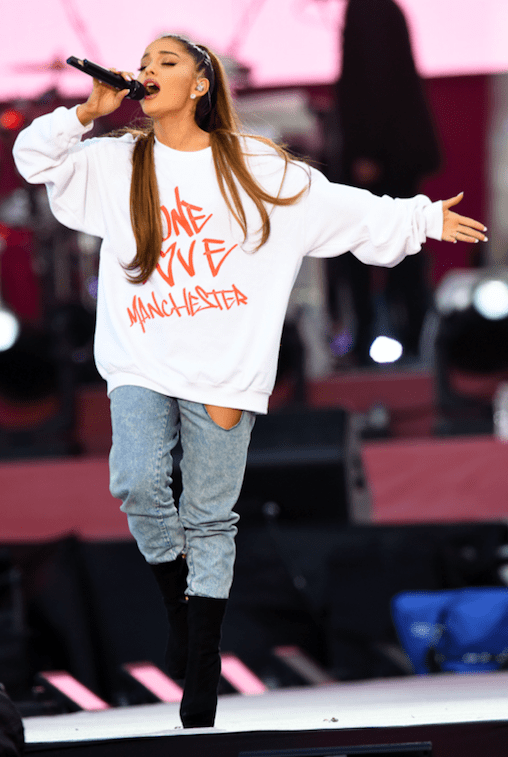Ariana had been scheduled to make a surprise appearance at the ceremony to perform a tribute to the victims of the terrorist attack at her Manchester concert last May.