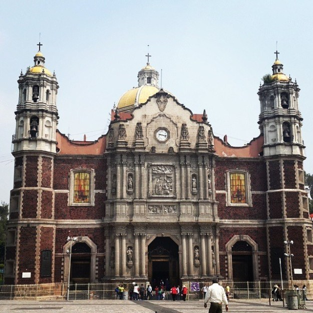 The Old Basilica of Our Lady of Guadalupe: