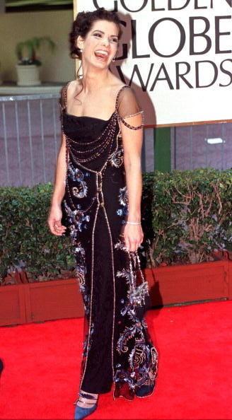 Sandra Bullock at the Golden Globes: