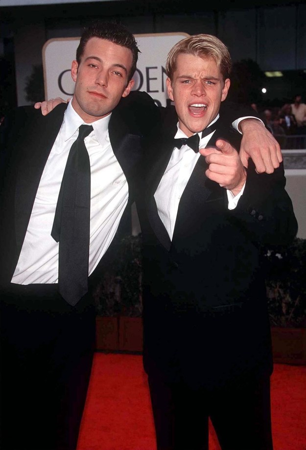 Ben Affleck and Matt Damon at the Golden Globes: