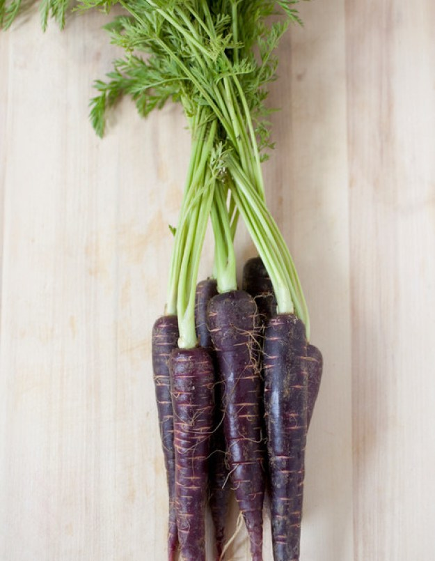 Carrots were originally purple.