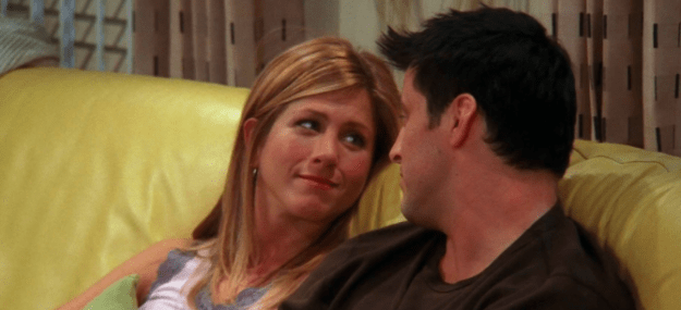 Rachel and Joey (Friends)