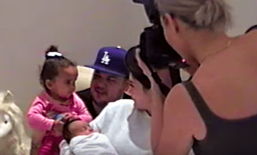 There's some incredibly intimate footage of Kylie meeting Kim's baby Chicago and hanging with Rob Kardashian and his daughter, Dream.