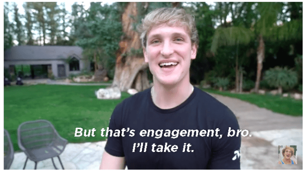 Really, the entire debacle adds up to one thing: Logan Paul only has more, not less, to talk about now.