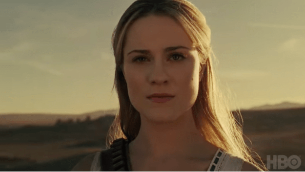 "The last shot of the trailer goes to Dolores, armed and declaring Westworld ""our world""."