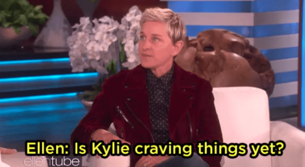 """With Khloé giving us a glimmer of joy by finally announcing that she was indeed pregnant, she made an appearance on The Ellen Show and instead of beating around the bush, Queen DeGeneres basically asked, """"yo, is Kylie pregnant?"""""""