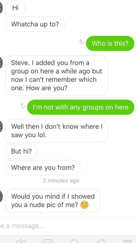 Oh Steve, yikes.