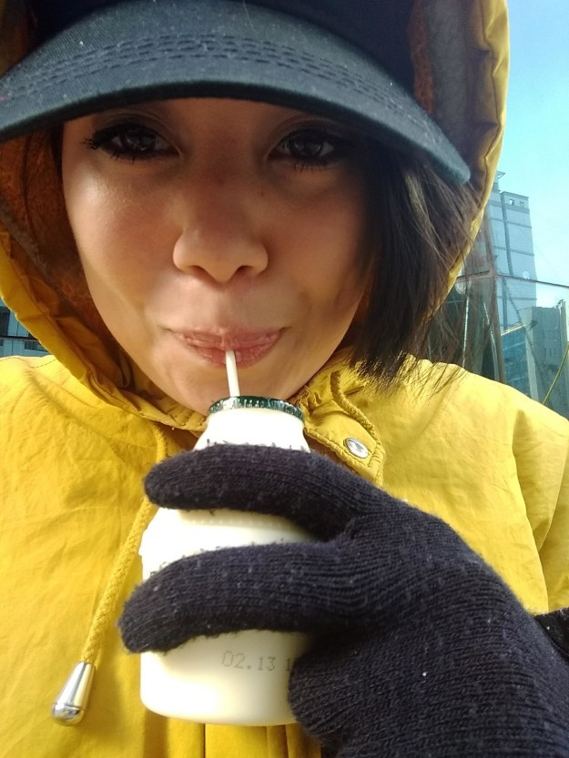 Even in the freezing temperatures of February in Seoul, it was was sweet and refreshing.