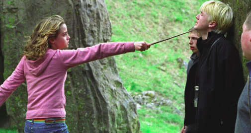 Hermione and Draco (Harry Potter)