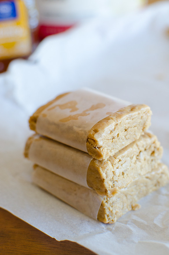 Easy Peanut Butter Protein Bars