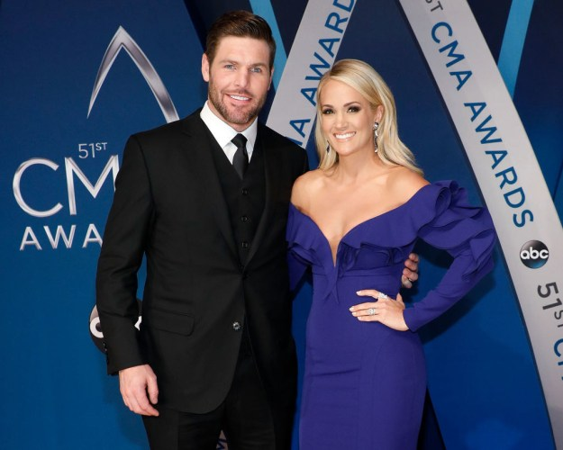 Singer Carrie Underwood and hockey player Mike Fisher have been married for seven years.
