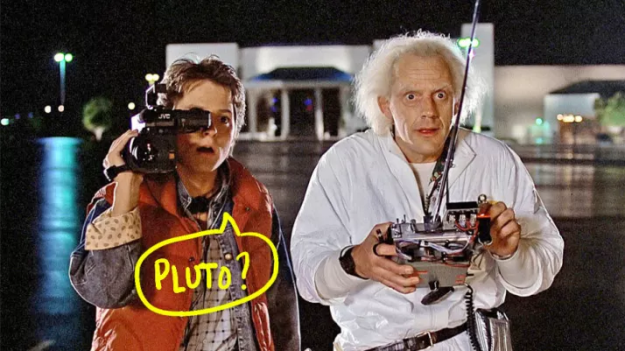 """Back to the Future was originally going to be called """"Spaceman from Pluto."""""""