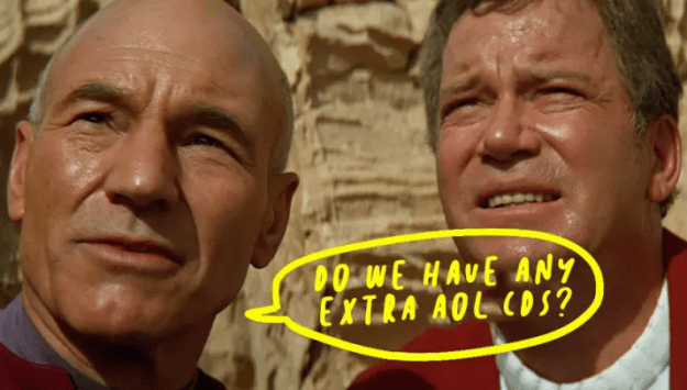Star Trek: Generations was the first film with its own website.