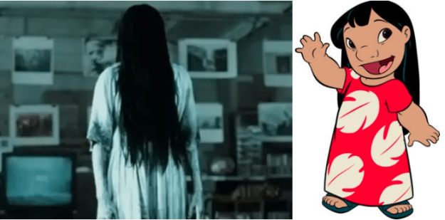 The actor who played Samara in The Ring also did the voice of Lilo in Lilo & Stitch.