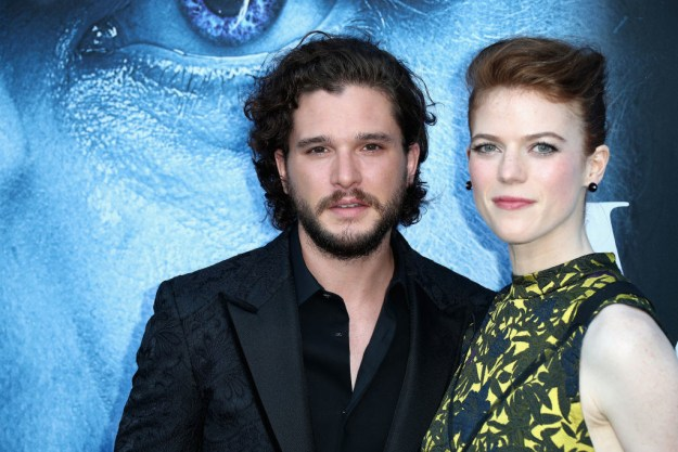 Rose Leslie and Kit Harington are arguably the most adorable couple on the planet.