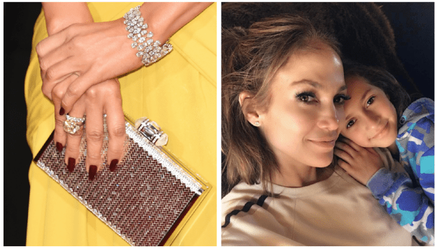 Marc Anthony gifted ex-wife Jennifer Lopez a canary yellow diamond ring priced around $300,000 and a pair of custom diamond earrings with her kid's initials that cost $2.5 million, NBD.