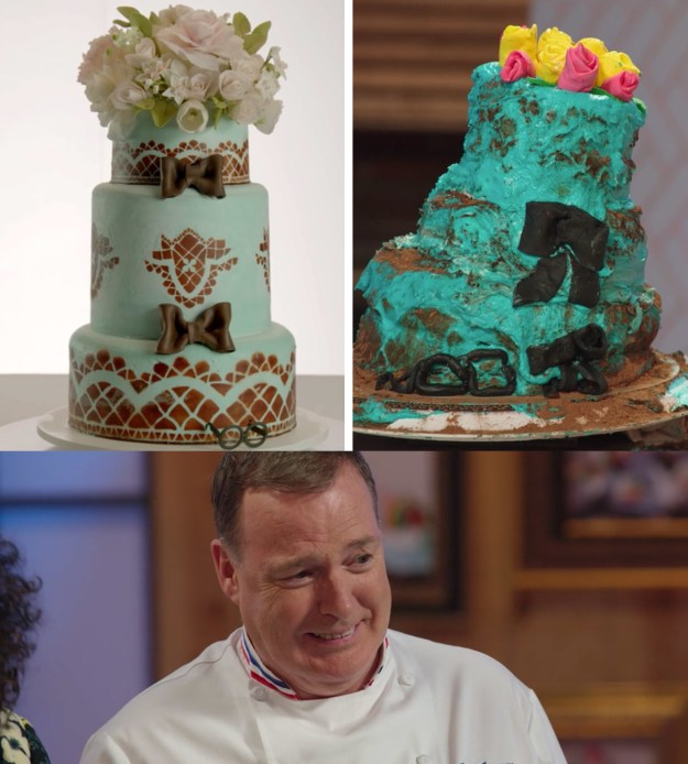 By now you may have heard of Nailed It, a new Netflix show where bakers who aren't exactly great at baking try to recreate ridiculous cakes in a timed competition.