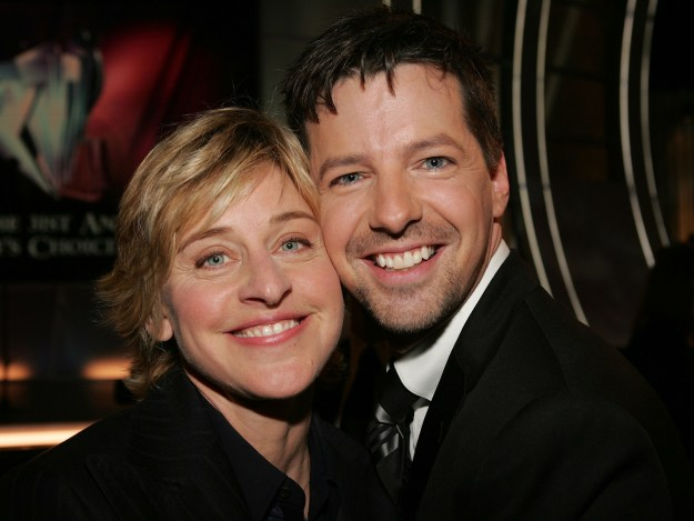 Ellen DeGeneres recently had her friend Sean Hayes on her show to discuss the success of Will & Grace's return and things got a little heated.