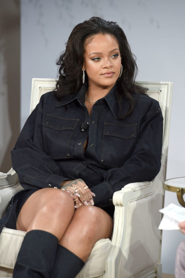 """Now Rihanna has responded to the advert on her Instagram story, saying that it would """"intentionally bring shame to [domestic violence] victims""""."""