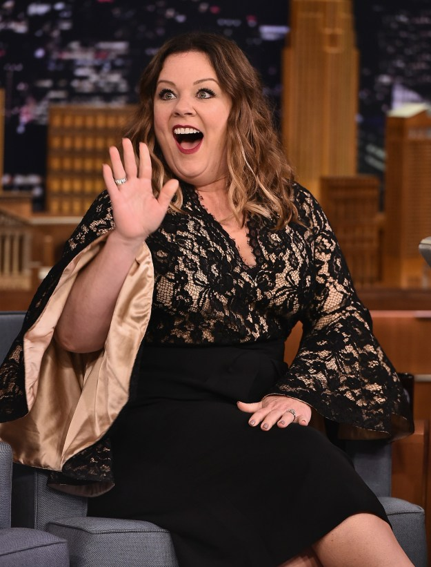 So, we all know Melissa McCarthy.