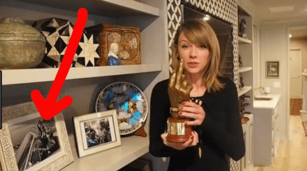 In fact, the trip and the Vogue cover were such a big deal to Taylor that she even has the photos framed in her home.