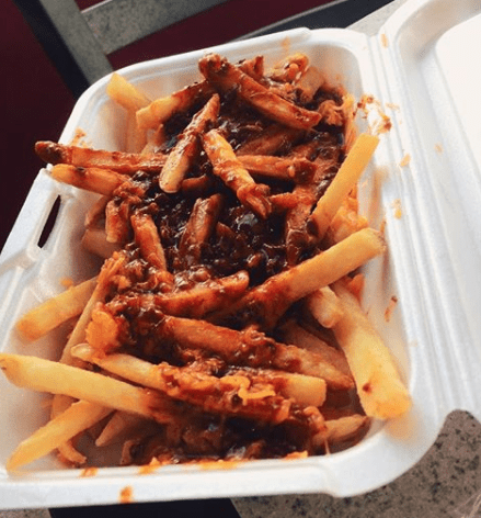 Georgia – Chili Cheese Fries with Ranch from Krystal