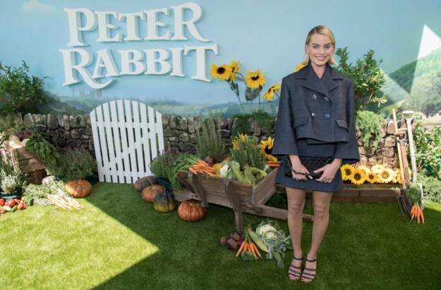 While Margot Robbie was promoting her latest film Peter Rabbit...