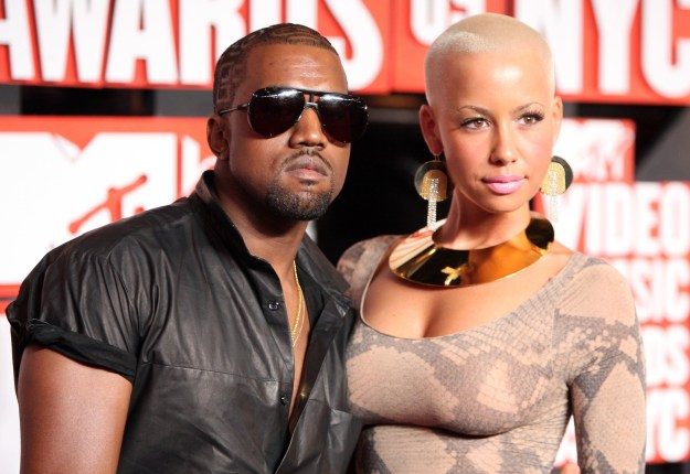 Now, in case you're wondering why Amber is relevant to all of this, she just so happens to be Kanye West's ex.