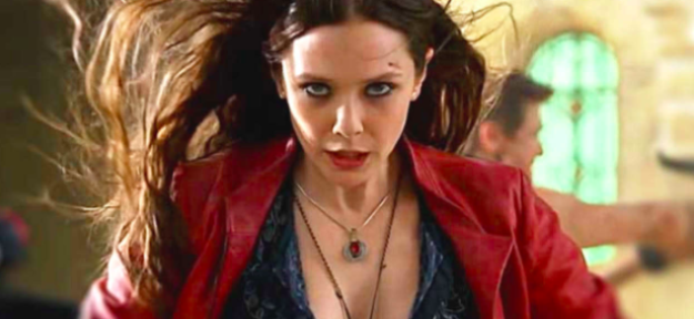 You probably know Elizabeth Olsen best for playing Scarlet Witch/Wanda Maximoff in Avengers: Age of Ultron and Captain America: Civil War.