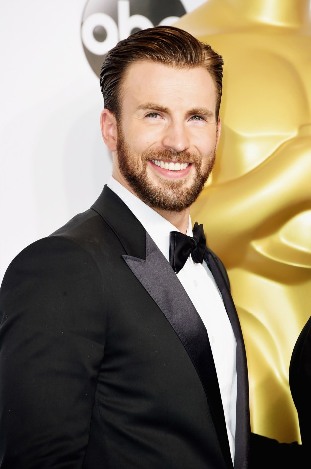 Hi, this is Chris Evans. He's handsome.