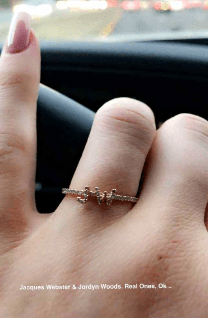 """The pair are so close in fact, that during an episode of Life of Kylie they held a marriage ceremony, and recently Kylie has been wearing a ring on her left hand featuring the initials: """"J.W."""""""