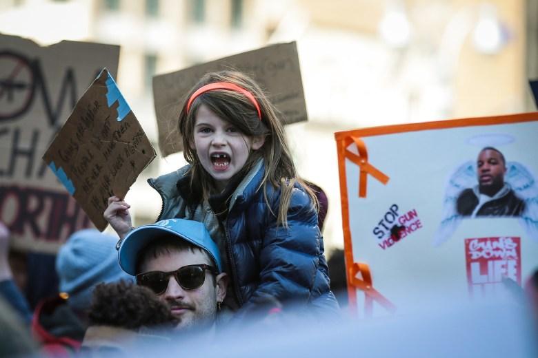 Marlowe Sturridge, 5, in New York City