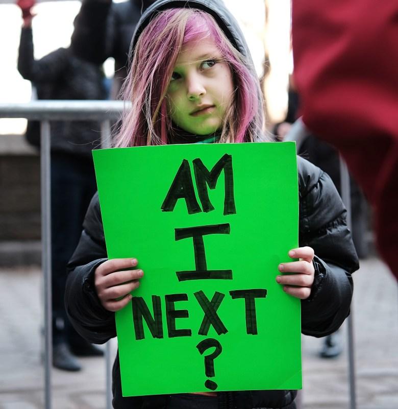 Rocio Klotz, 6, in New York City.