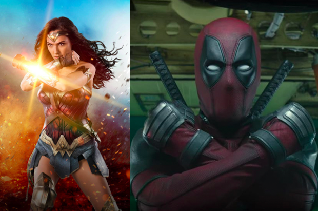I mean, it does like like he's copying Wonder Woman's signature/iconic pose to me...