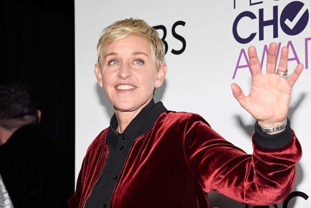 COOL: Ellen Degeneres