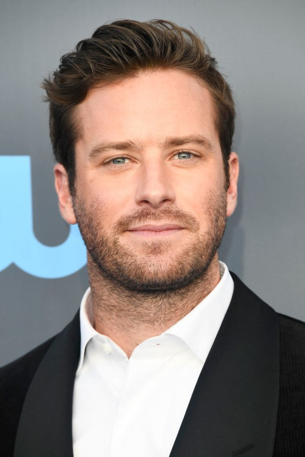 So, we're all familiar with Armie Hammer, right? He's an intensely talented actor with the face of a real-life Disney Prince.