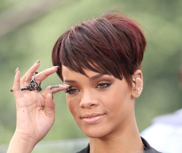 "Rihanna's ""Shhh..."" tat."
