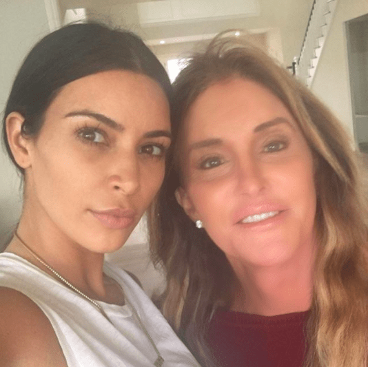 Let's start with the facts: Kim Kardashian and Caitlyn Jenner have historically not had the best relationship.